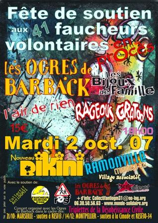 affiche concert OGM